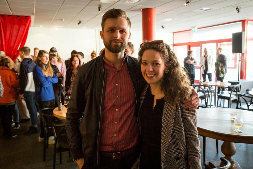 Grétar Halldór Gunnarsson og Valgerður B. Eggertsdóttir.