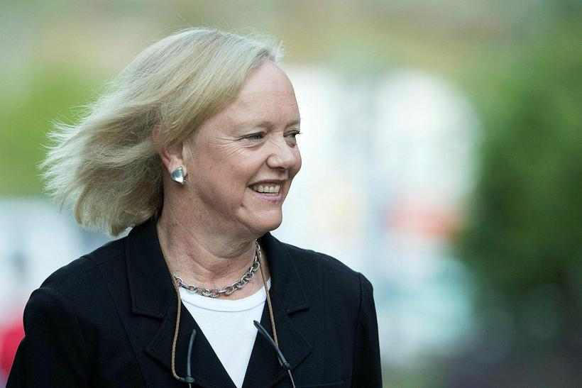 Meg Whitman yfirmaður Hewlett Packard.