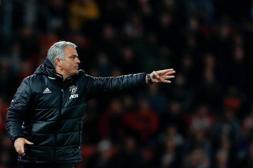 José Mourinho, stjóri Manchester United.