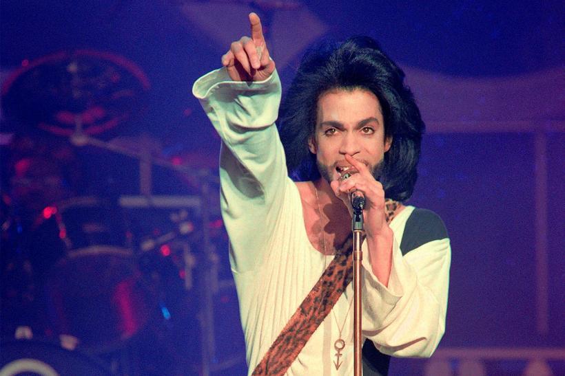 Prince á tónleikum árið 1990.