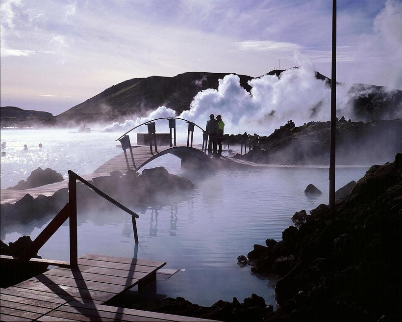 The Blue Lagoon is a popular destination among tourists that ...