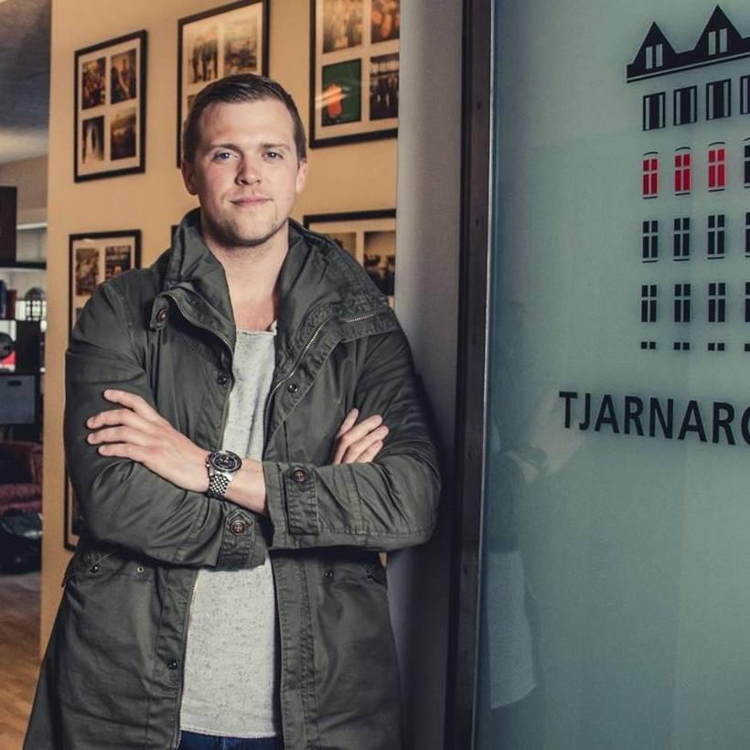 Einar er sannfærður um að einhver snillingur sé að baki ...