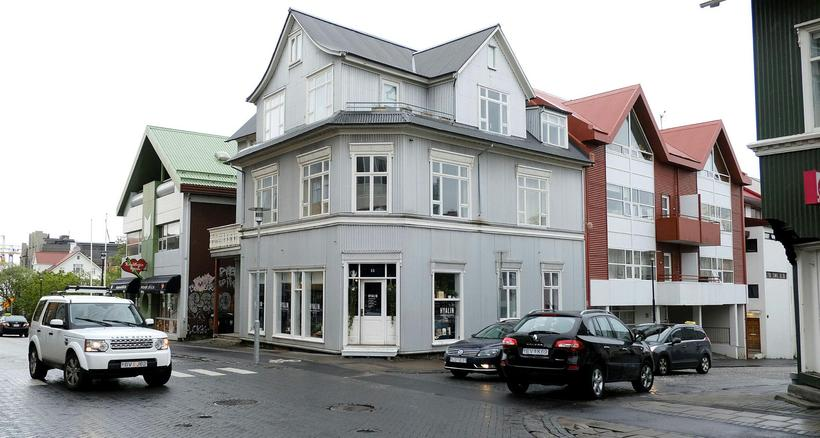 The store is located in this lovely building on Hverfisgata.