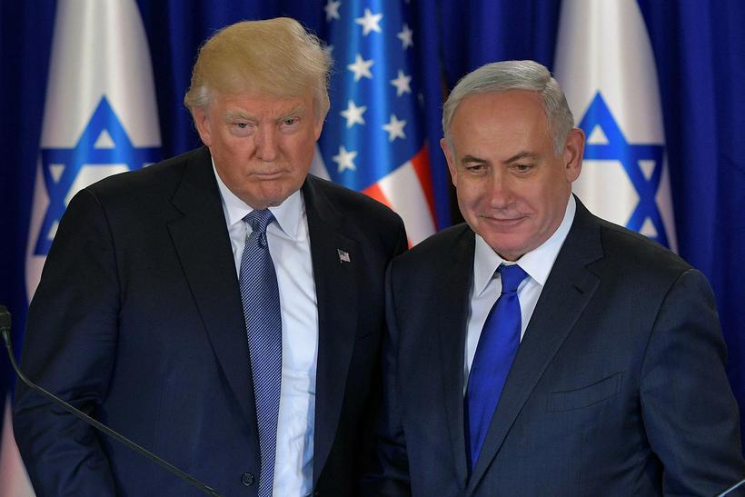 Donald Trump og Benjamin Netanyahu