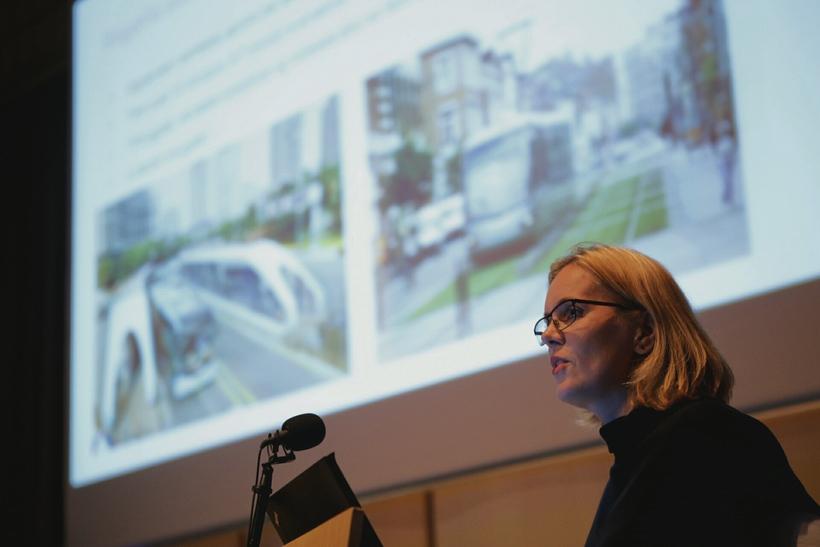 Lilja G. Karlsdóttir, samgönguverkfræðingur hjá Viaplan.
