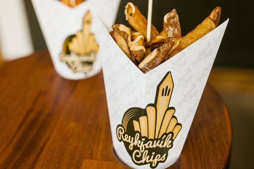 Chips from Reykjavik Chips.