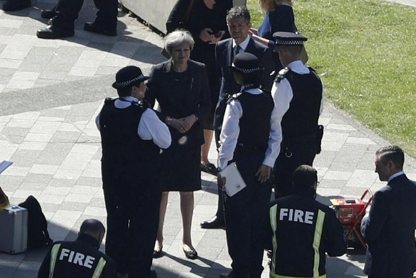 Theresa May, forsætisráðherra Bretlands, hefur fram að þessu einungis talað ...