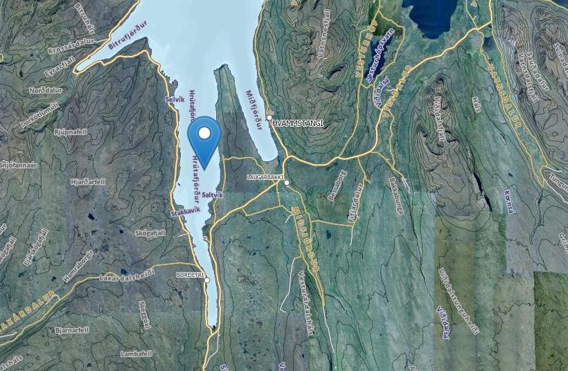 Hrútafjörður.