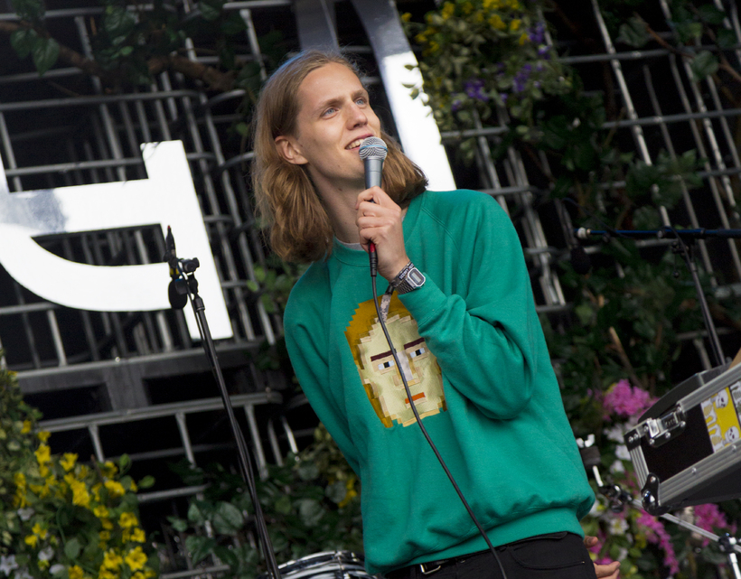 Eurovision-stjarnan Daði Freyr kom fram á lokakvöldi Secret Solstice.