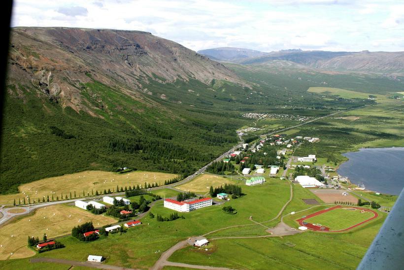 Íþróttamannvirkin á Laugarvatni hafa verið lokuð frá 1. júní.
