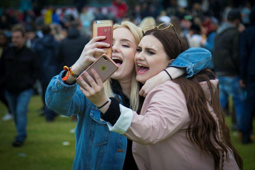 The Secret Solstice selfie.