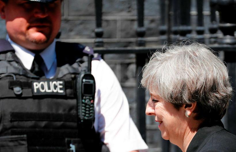 Theresa May forsætisráðherra kallaði ríkisstjórnina saman í dag vegna árásarinnar.