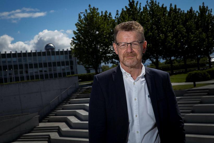 Eiríkur Rögnvaldsson, prófessor í íslenskri málfræði við Háskóla Íslands.