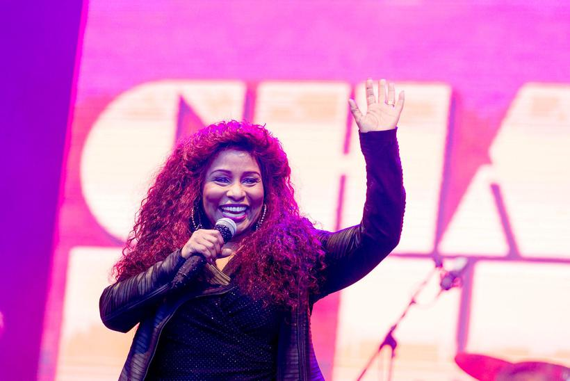 Chaka Khan was the final number on Thursday.