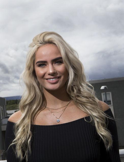 Sunneva Eir Einarsdóttir samfélagsmiðlastjóri.