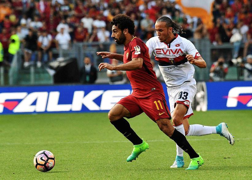 Egypski framherjinn Mohamed Salah er kominn til Liverpool frá Roma ...
