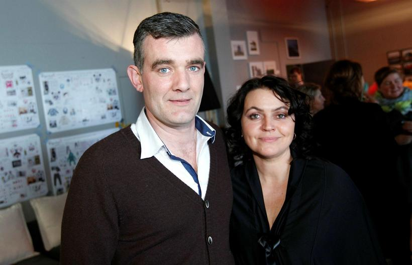 Stefán Karl Stefánsson and his wife Steinunn Ólína Þorsteinsdóttir