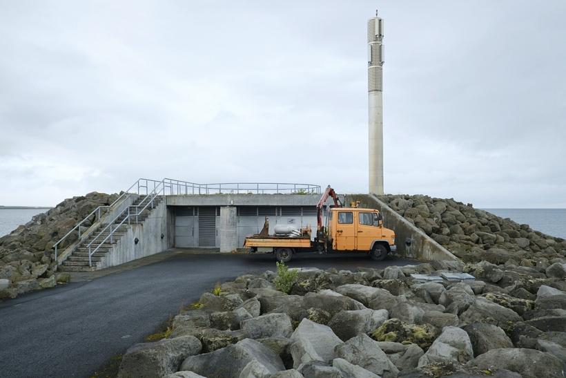 Skólpdælustöðin við Faxaskjól í Reykjavík