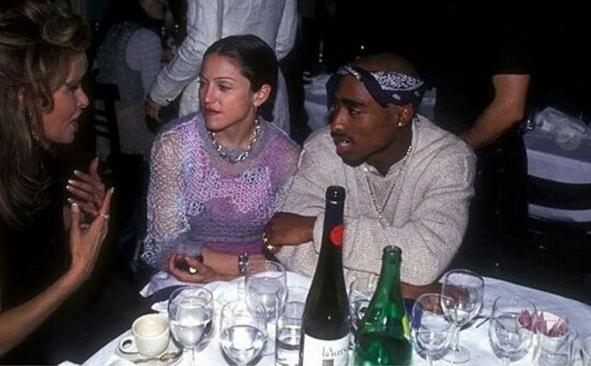 Madonna og Tupac.