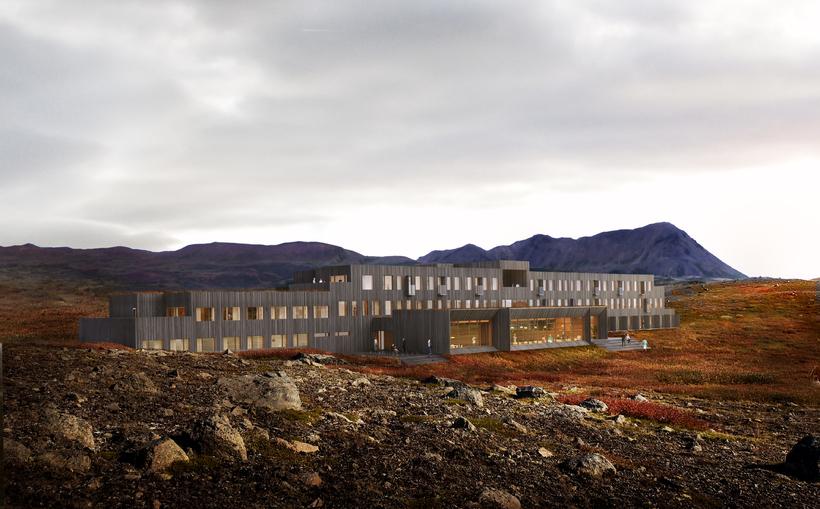 Fosshótel Mývatn was designed by award-winning Nordic architects Basalt Architects ...