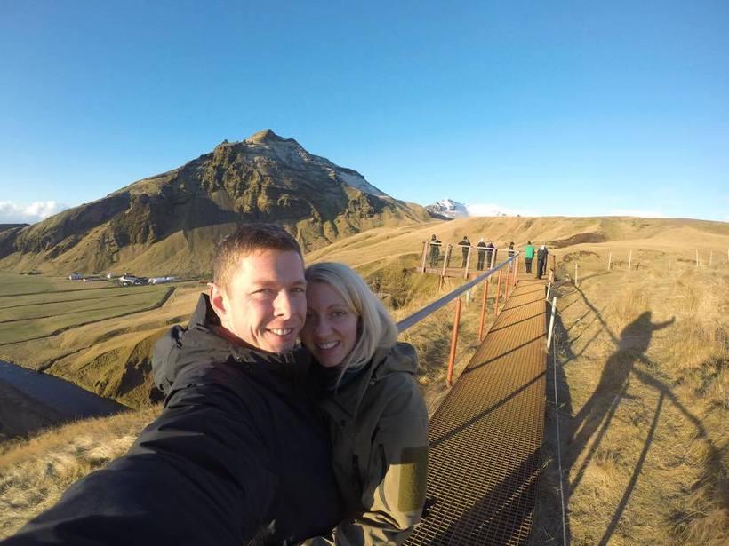 Parið er mjög hrifið af Íslandi og langar mikið að ...