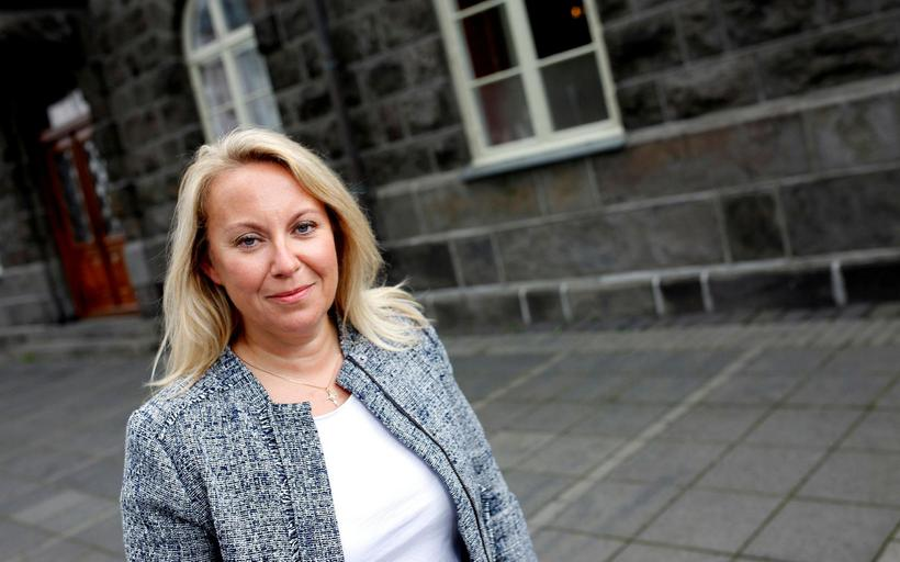 Sigríður Á. Andersen, Minister of Justice.