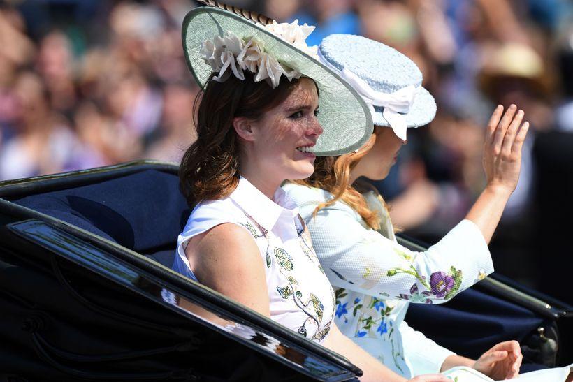Eugenie prinsessa er barnabarn Elísubetar Englandsdtorrningar og áttunda í erfðaröðinni.