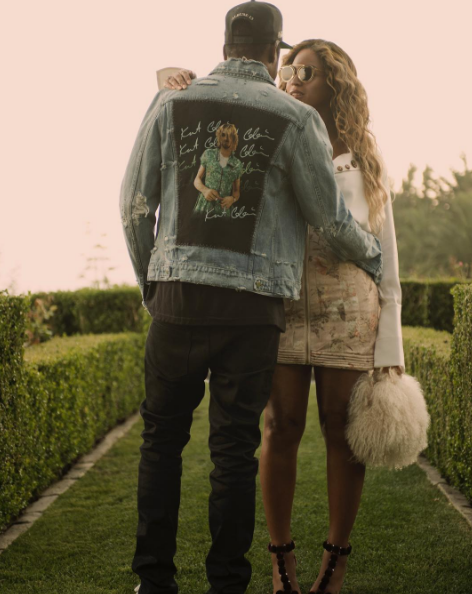 Hjónin Jay-Z og Beyoncé sýnast hamingjusöm.