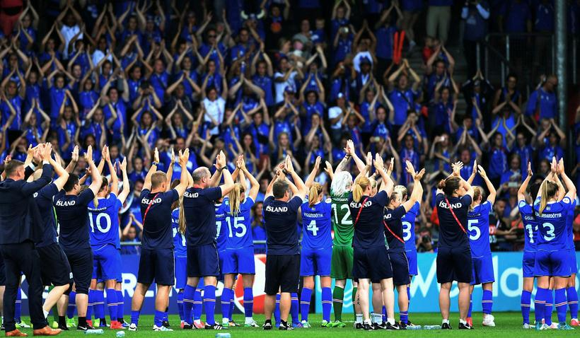 Ísland hefur lokið keppni á EM.