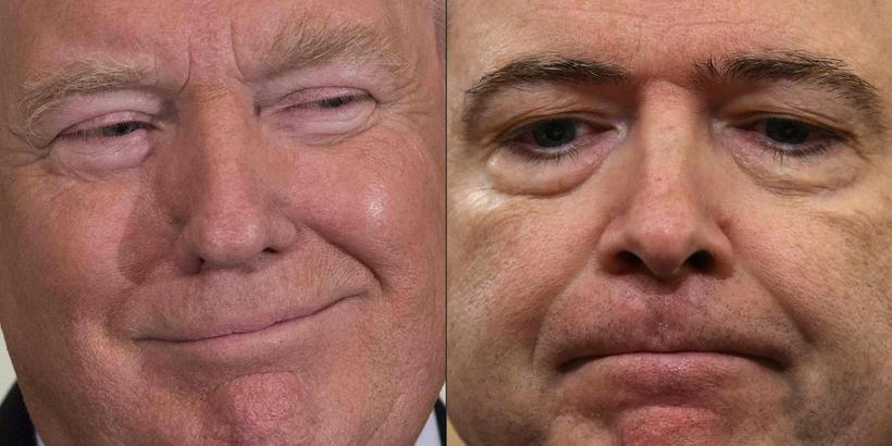 Donald Trump var ekki hress með rannsókn FBI á samskiptum ...
