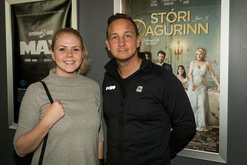Lilja Ósk Diðriksdóttir og Heiðar Austmann.