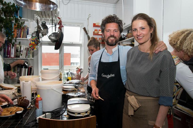 Dagur B. Eggertsson og Arna Dögg Einarsdóttir hafa árum saman ...