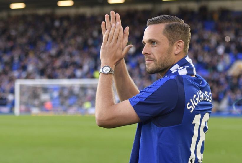Gylfi Þór Sigurðsson er orðinn vinsæll hjá Everton.