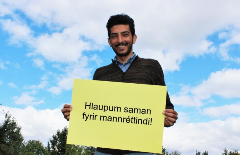 Majid Zarei segir Ísland vera heimili sitt.