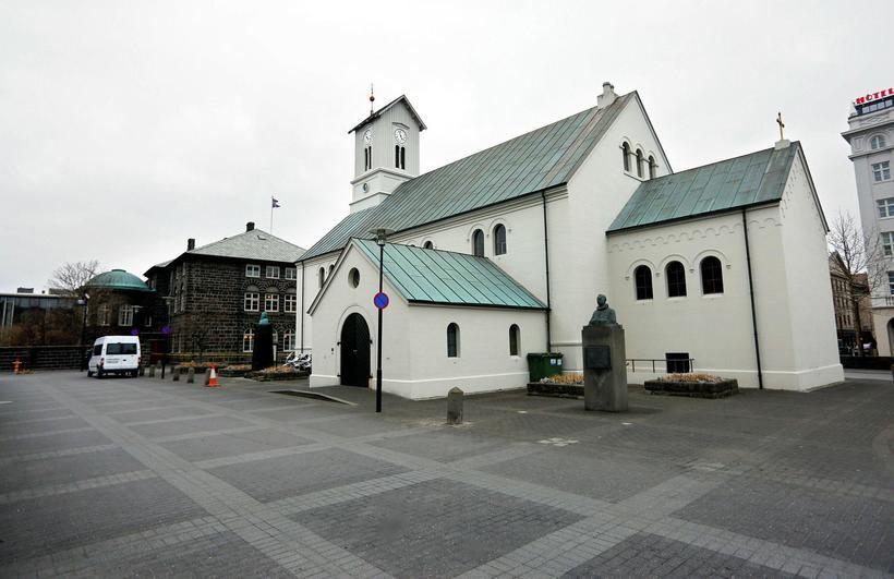 Dómkirkjan í Reykjavík.