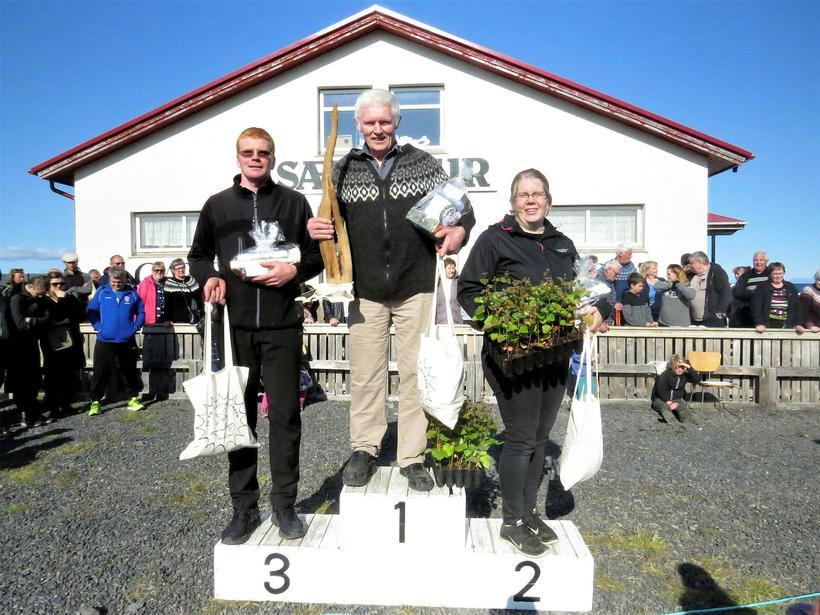 Guðbrandur Sverrisson á Bassastöðum í 1. sæti, Árný Huld Haraldsdóttir ...