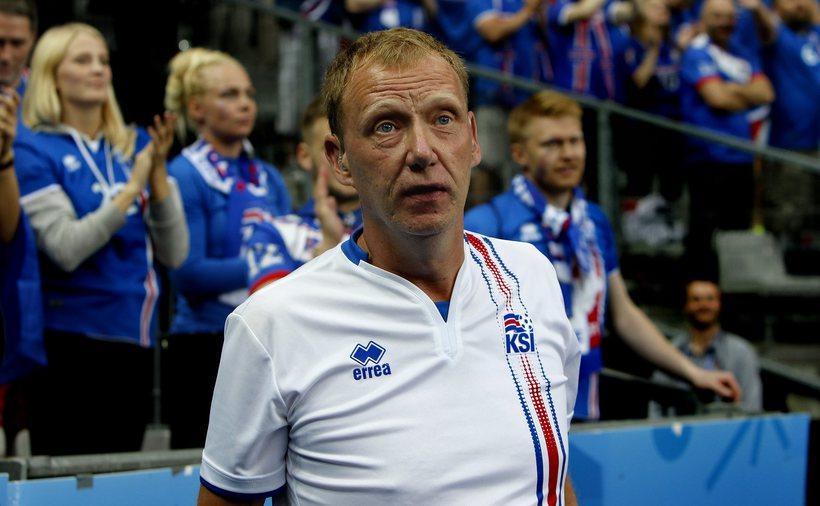 """Páll Sævar Guðjónsson, jafnan kallaður """"röddin""""."""