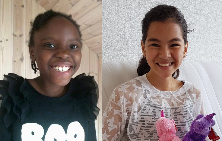 Mary, 8, and Hanyie, 11, are to be deported from ...