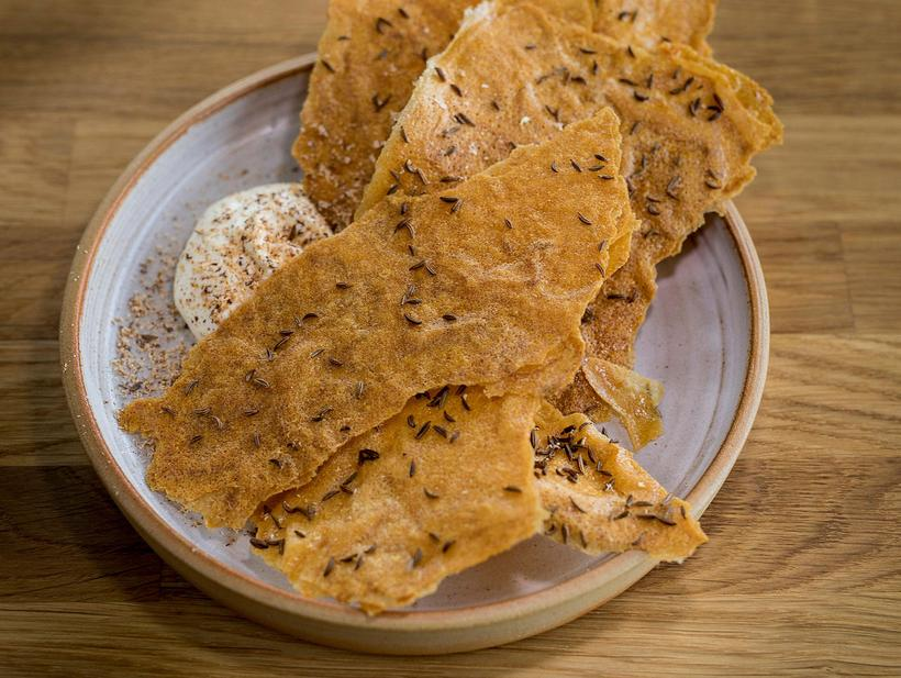 A twist on the traditional leaf bread: here it's made ...