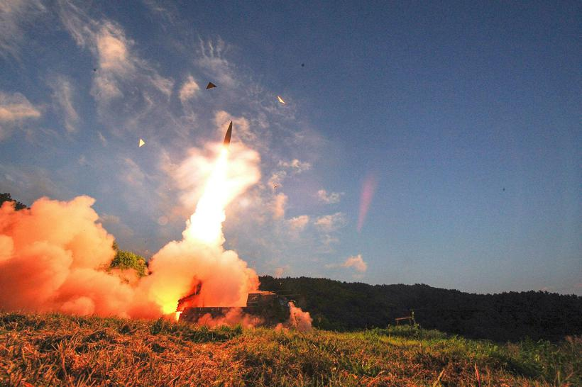 South Korea started testing its missiles soon after North Korea ...