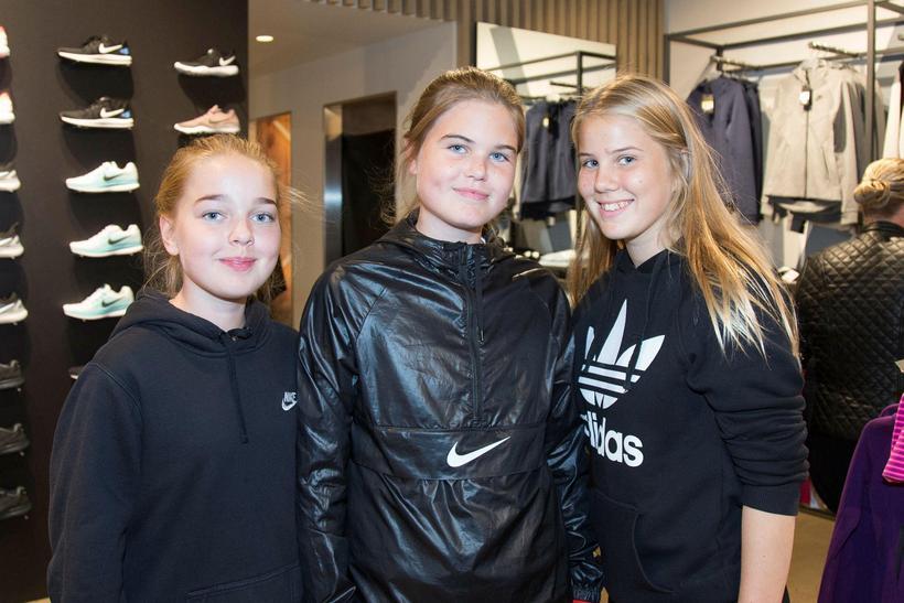 Embla Brink Gunnarsdóttir, Birta Rós og Eva Lind Hansen.