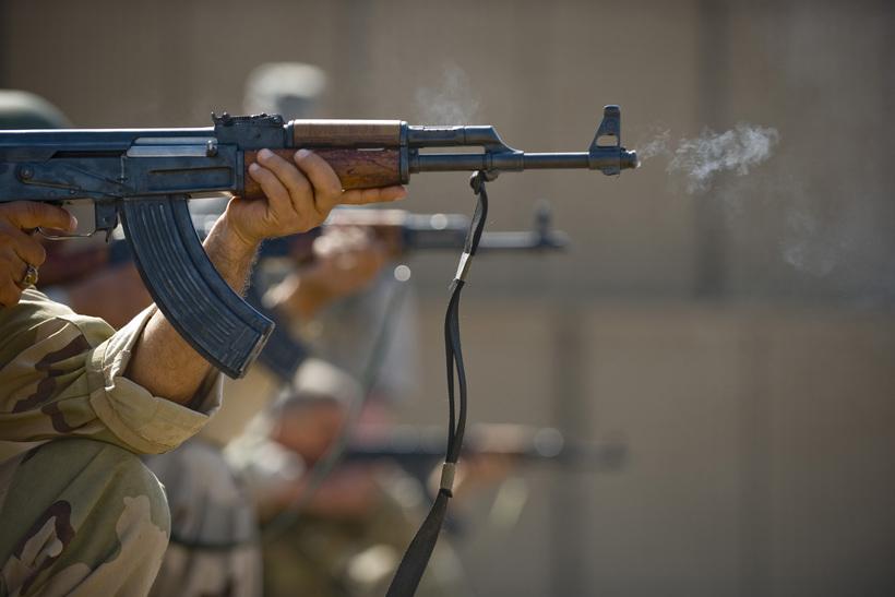 Kalashnikov-riffill, betur þekktur undir nafninu AK-47.