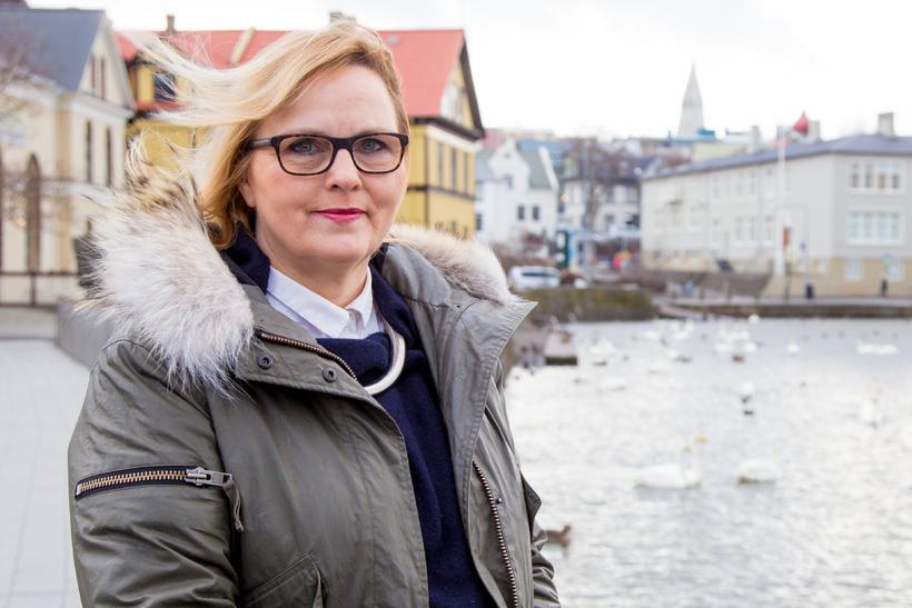 Marta Guðjónsdóttir, borgarfulltrúi Sjálfstæðisflokksins, mælti fyrir tillögu um að afgreiðslutími ...