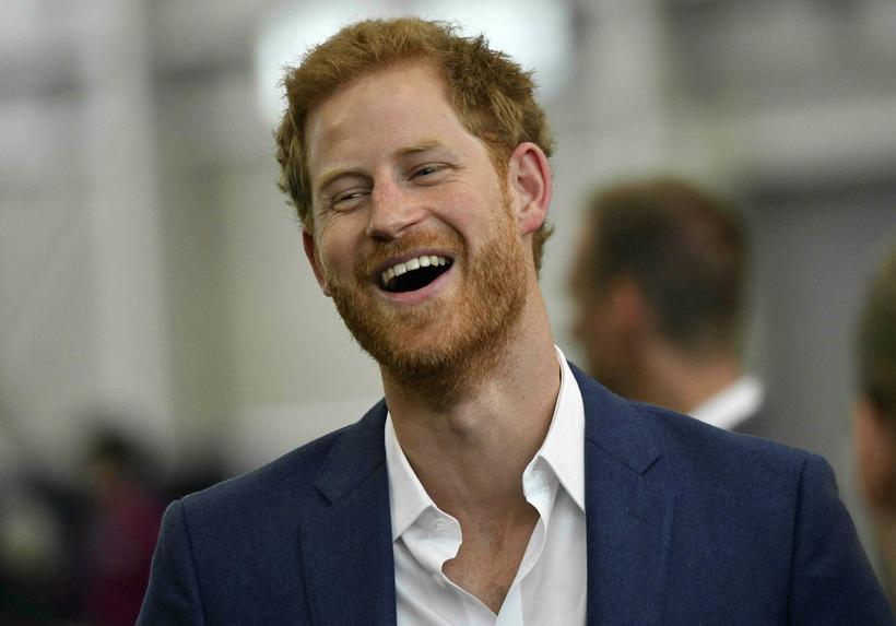 Harry er greinilega góður vinur þeirra í Foo Figthers.