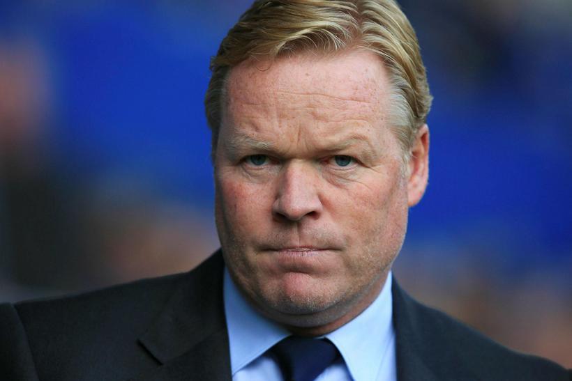 Ronald Koeman, knattspyrnustjóri Gylfa Þórs Sigurðssonar hjá Everton.