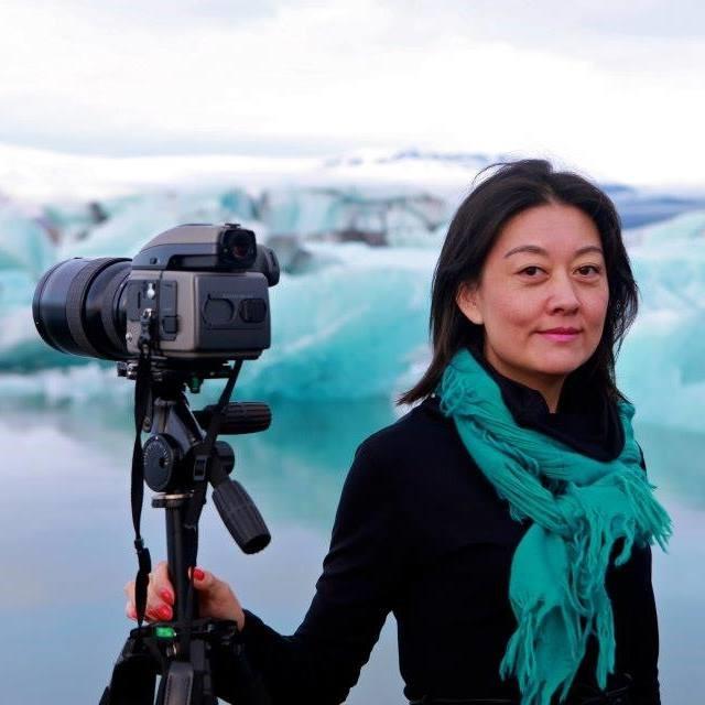 Rosita YuFan Zhang, eigandi Sjanghæ á Akureyri.