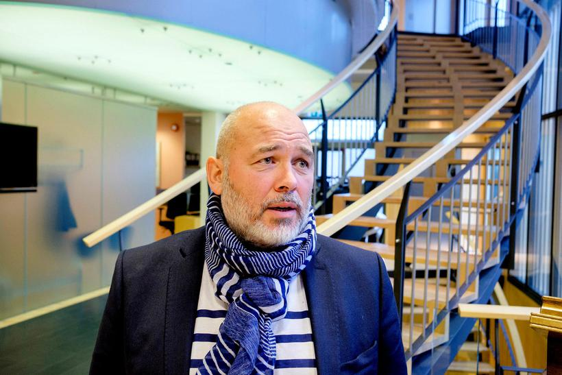 Logi Einarsson, chairman of the Social Democratic Alliance ('Samfylkingin').