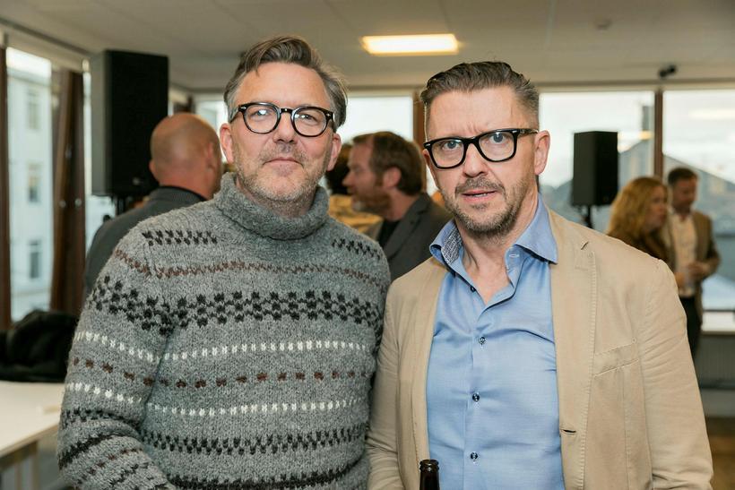 Lárus Jóhannesson og Sveinn Andri Sveinsson.