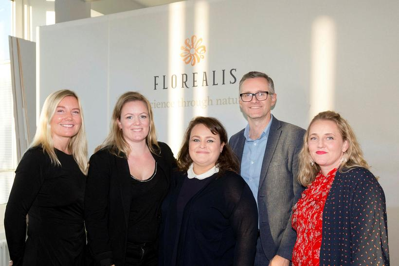 Louise Sávström, Ásta Rut Jónasdóttir, Kolbrún Hrafnkelsdóttir, Karl Guðmundsson og ...