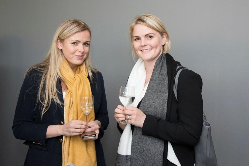 Arndís Thorarensen og Elísabet Árnadóttir.